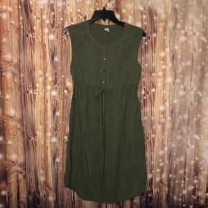 Old Navy Army Green Dress size 8 M